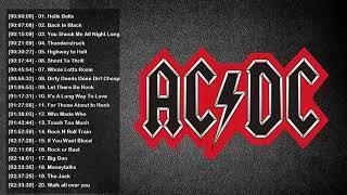ACDC Greatest Hits Full Album 2018 | ACDC Best Songs | ACDC playlist