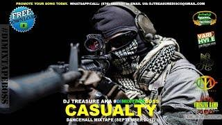 NEW DANCEHALL MIX (SEPTEMBER 2017) # 1 CASUALTY - VYBZ KARTEL TOMMY LEE ALKALINE 18764807131