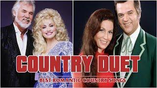 Best Country Duets of All Time  - Greatest Duets Country Music - Good Duet Country Songs ♬