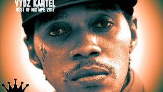 Vybz Kartel Best Of Reggae Dancehall Mixtape 2017 By DJLass Angel Vibes (December 2017)