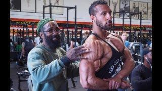 CHEST DAY AT GOLDS WITH CHARLES GLASS | GYM MOTIVATION | Bodybuilding