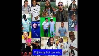 CD JOHNNY HOT TOOL DANCEHALL MIX 2017