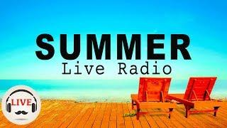 Happy Summer Cafe Music Radio - Jazz, Bossa Nova, Latin & Soul Music For Study, Work - 24/7 Live