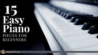 15 Easy Classical Piano Pieces for Beginners