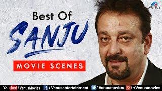 Best Of Sanju | Bollywood Comedy & Action Movie Scenes | Sanjay Dutt Movies