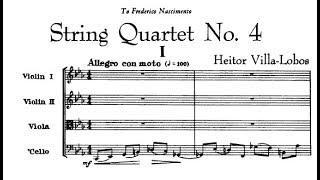 Heitor Villa-Lobos - String Quartet No. 4 (1917)