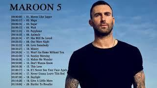 Maroon 5 Greatest Hits Full Playlist - Maroon 5 Best Of Full Album 2018