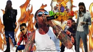 New April 2017 Dancehall Reggae Fire Hot Mix - Vybz Kartel, Alkaline, Masicka & More