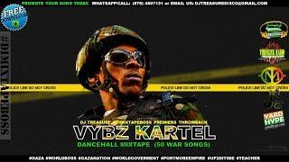 VYBZ KARTEL DANCEHALL MIX 2018 PT 2 (50 Best War Songs Mixtape) @DJTREASURE 18764807131