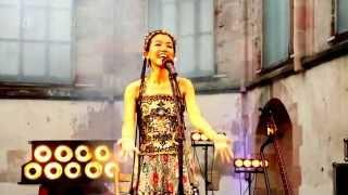 Asian Woman sings Chinese Folk Music