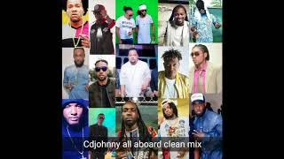 CD JOHNNY ALL ABOARD DANCEHALL MIX 2017