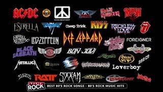 Best of 80s Rock - 80s Rock Music Hits - Greatest 80s Rock songs