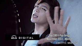 Top 100 K-Pop Songs - November 2013 Week 1