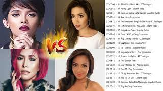 KZ Tandinga,Jonalyn Viray,Yeng Constantino,Angeline Quinto Greatest Hits,Opm Tagalog Love Songs 2018
