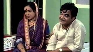 RAJKARAN GELA CHULIT (1990) - Full Movie | Marathi Comedy Drama
