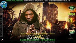 MAVADO DANCEHALL MIX | 40 BEST WAR SONGS | NOVEMBER 2017 |  @DJTREASURE | 18764807131