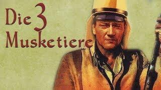 John Wayne - Die drei Musketiere (John Wayne Klassiker in voller Länge auf Deutsch, komplett)