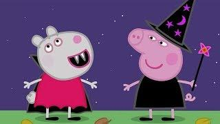 Peppa Pig English Episodes - Halloween Party! #PeppaPig