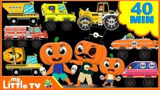 Halloween Finger Family | Scary Nursery Rhymes for Children | Halloween videos for Kids