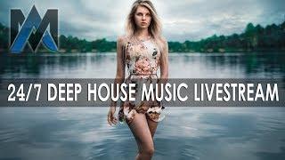 24/7 Livestream Deep House Vocal & Nu Disco Music | Chill Out | MA Deep House