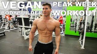 VEGAN BODYBUILDING PEAK WEEK WORKOUT - NIMAI DELGADO
