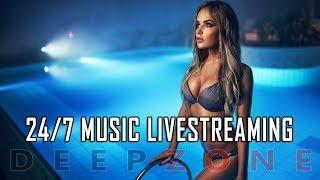 24/7 Livestream Deep House Music   DEEP ZONE
