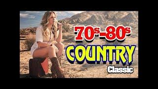 Best Classic Country 1970s 1980s - Greatest Top Old Country Music Songs 70s 80s