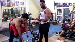Bicep Workout Raju Mr India | Bodybuilding | FitnessGuru | Workout Tips
