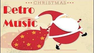Retro Christmas Music 50s - 60s - ROCK and ROLL!
