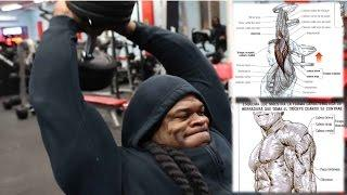 Kai Greene- Arm Workout triceps and biceps (Bodybuilding Motivation) Fitness Body