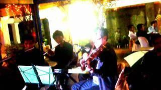 the Wedding Musicians- Tales of Music Ensemble @ a wedding in General Trias, Cavite.wmv