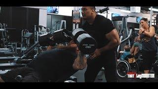 Powerlifters Do Bodybuilding Workout Feat. Larry Wheels