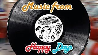 Music From Happy Days - Music Legends Book