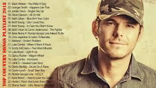 Country Music Mix 2018 | Best Country Music Playlist 2018 | Top Country Tracks Playlist