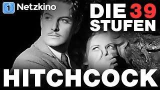 Alfred Hitchcock: Die 39 Stufen (Thriller, Kultfilm in voller Länge, ganze Filme auf Deutsch) *HD*