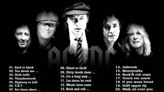 ACDC Greatest Hits Full Album 2017 | Best Songs Of ACDC Classic  Rock Music Song