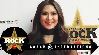 "THE CLASSIC ROCK AWARDS ""Best Asian Performer"" - SARAH GERONIMO"