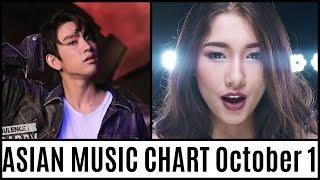 ASIAN MUSIC CHART October 2016 Week 1