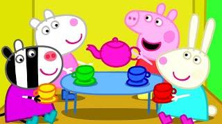 Peppa Pig Episodes - Peppa plays with friends - Cartoons for Children #PeppaPig
