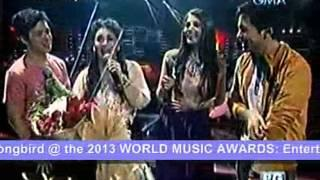 REGINE VELASQUEZ for 2013 WORLD MUSIC AWARDS (PP Bakasyon Apr. 7, 2013)
