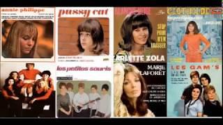 Various - Ye Ye Girls Vol. 1 : 60's European French Garage,Beat,Pop Female Singers Music Compilation