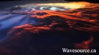 Liquid Skies Healing Ambient Music (432Hz) ~ Metal Singing Bowls