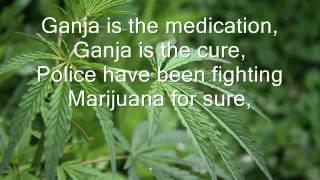 Bob Marley | Ganja in My Brain with Lyrics