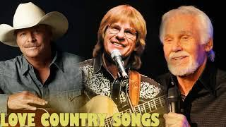 Best Country Love Songs of All Time - Kenny Rogers, Alan Jackson, John Denver Greatest Hits Album