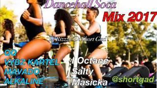 Waist Line Dancehall Soca (Mix 2017) QQ, Alkaline, Vybz Kartel, Salty [Dj Rizzzle]
