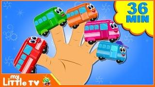 Vehicles Finger Family | Nursery Rhymes | Baby Songs | Car Videos for Kids
