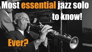 Best Jazz solo to learn first!- Sidney Bechet -high society