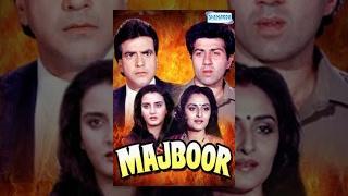 Majboor (1990) - Hindi Full Movie - Jeetendra - Sunny Deol - Jaya Prada - Bollywood Superhit Movies