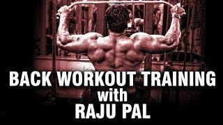Back Workout Raju Mr India | Bodybuilding | FitnessGuru | Workout Tips