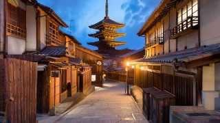 Ambient music - Air - Alone in Kyoto 800% Slower